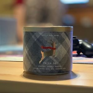 Bath & Body Works Candle- Winter Candy Apple